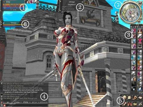 Imagen de la interfaz del juego